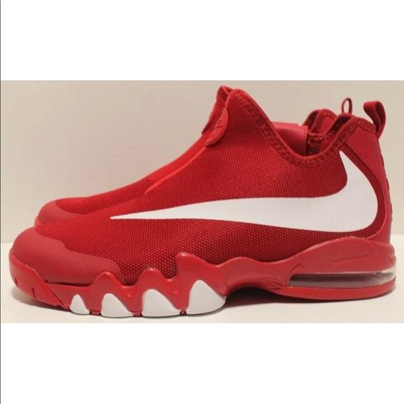 Nike Air Max Big Swoosh Gym Red White Size 11.5 a2ce13b48